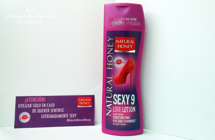 loción Sexy9 Love Lotion Natural Honey