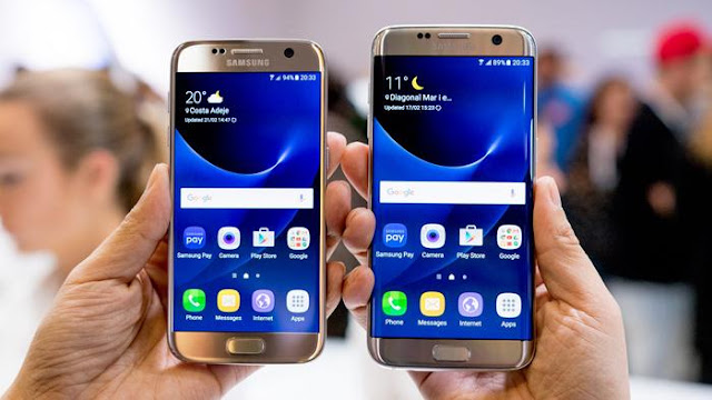 Samsung Galaxy S7 vs S7 Edge
