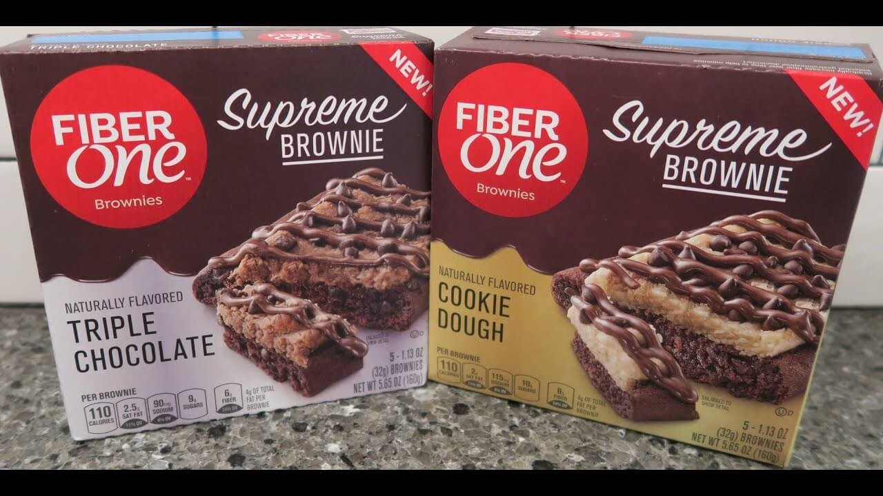 FREE Fiber One Supreme Brownie Cookie Dough Sample at