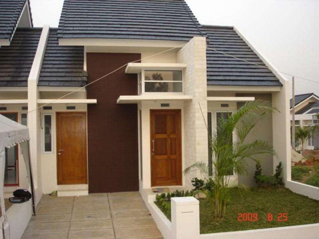 model rumah type 45 sederhana 1 lantai modern