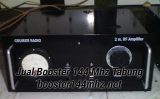 Booster 144 Mhz Tabung 400 W Lengkap dengan Power Supply Tinggal Colok Listrik