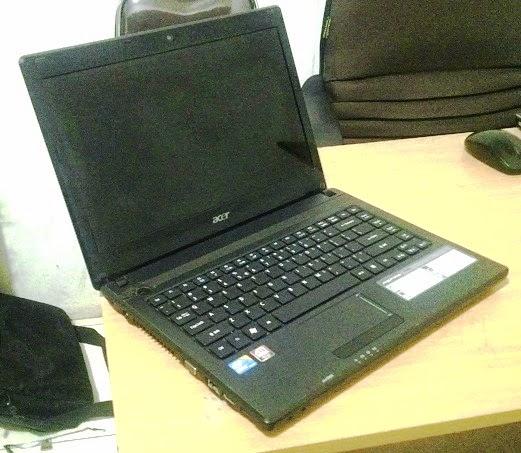 harga laptop bekas acer aspire 4738g