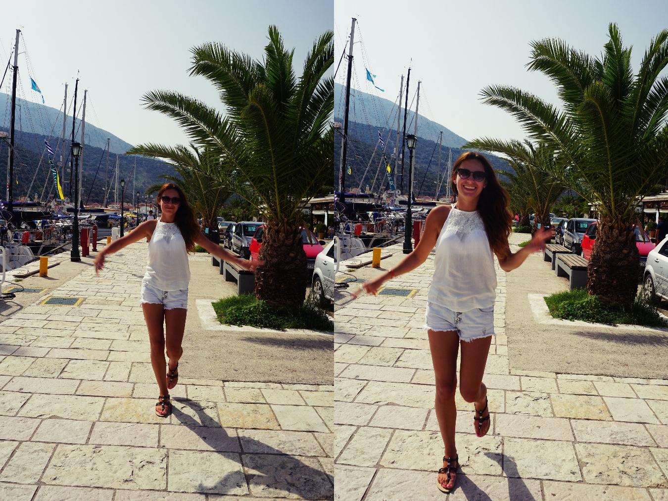 Panidorcia, port, agia efimia, Grecja, Kefalonia, wyspy jońskie, wakacje, lato