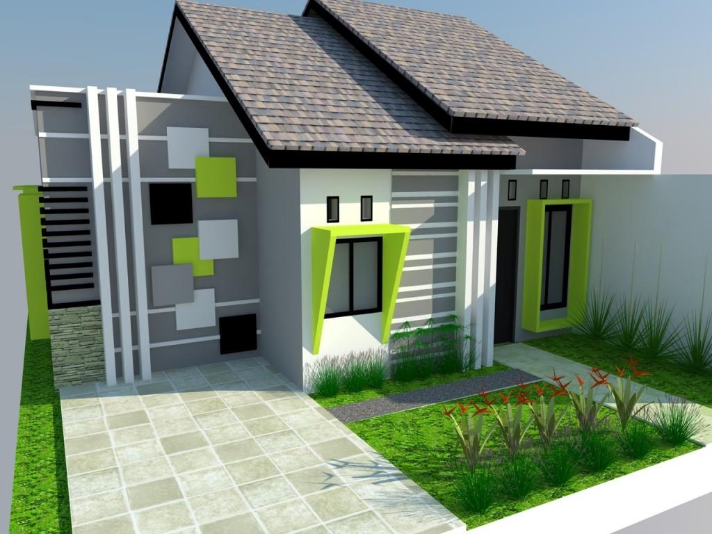 Cat Depan Rumah Minimalis