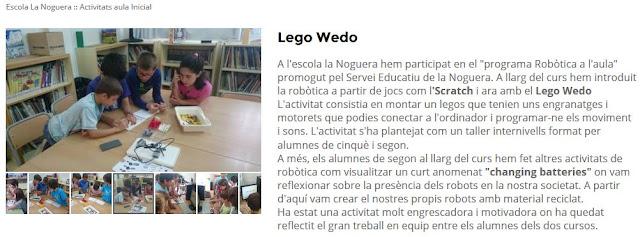 http://escolalanoguera.cat/ca/educacio/escolalanoguera/activitats-aula-inicial/lego-wedo/94518.html