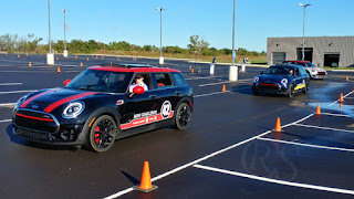 Autocrossing John Cooper Works MINI Clubman ALL4s on autocross track