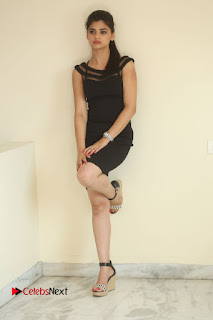 Actress Kamna Ranwat  Pictures in Black Short Dress at Selfie Raja Interview  0338