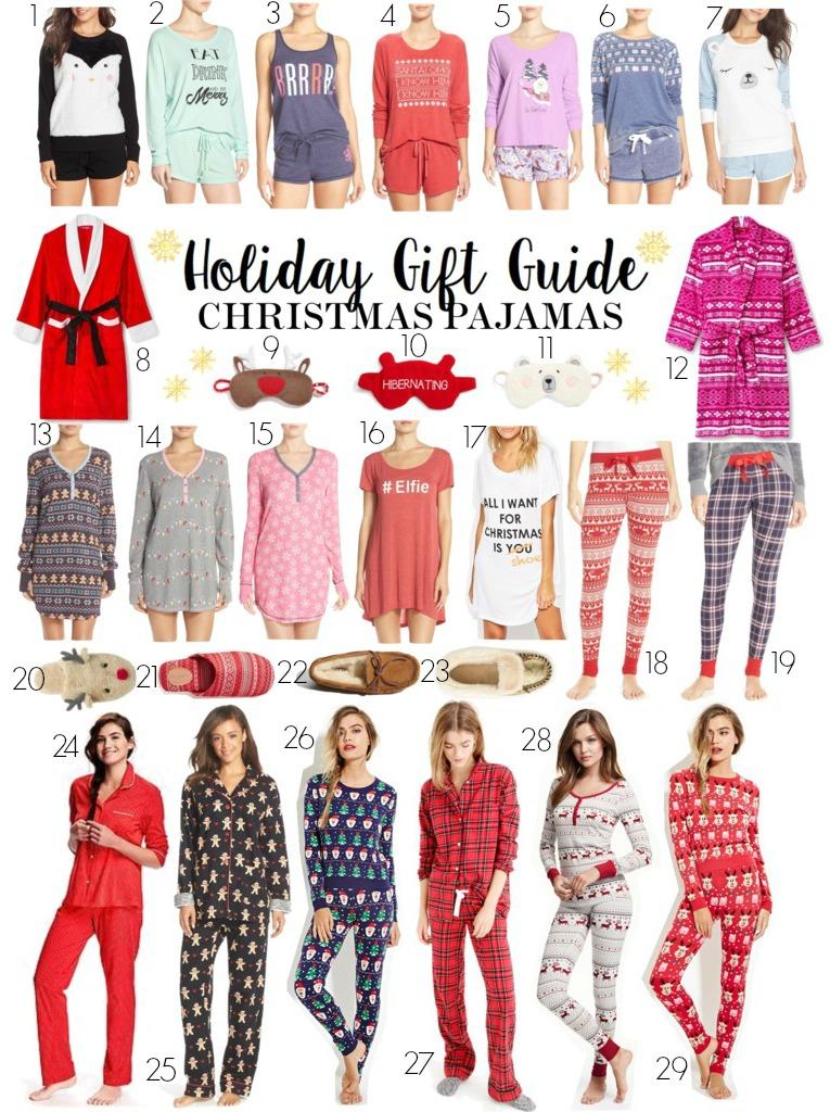 Holiday Gift Guide: Christmas Pajamas