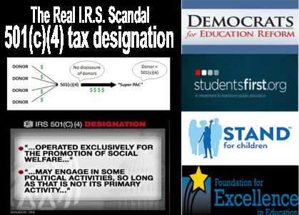 Image result for 501c 4 real irs scandal