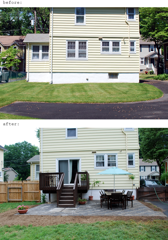 In the Little Yellow House: A Quick Backyard Before & After