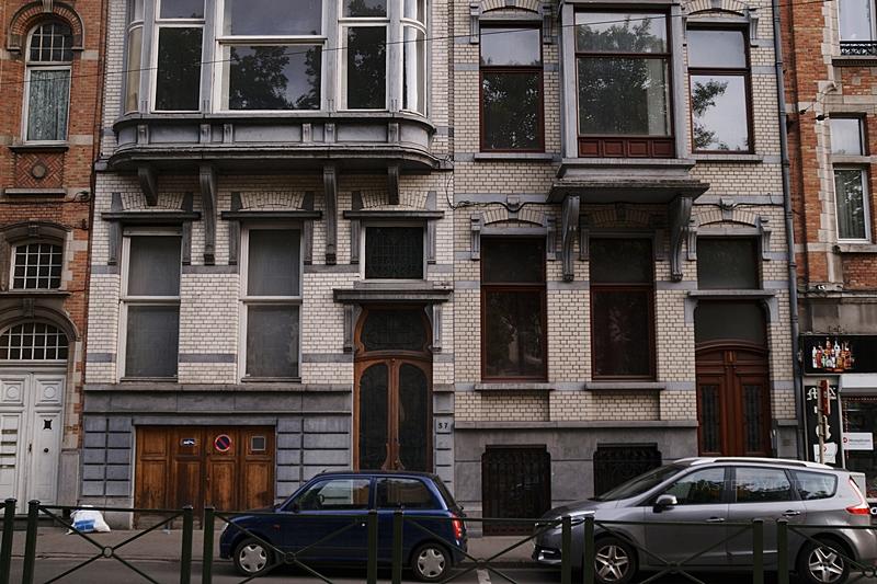 Streets and old houses of Brussels // Straßen und historische Fassaden in Brüssel | Interrail-Reise Juli 2017 | Tasteboykott