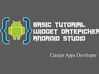 Belajar Membuat Widget DatePicker di Android Studio