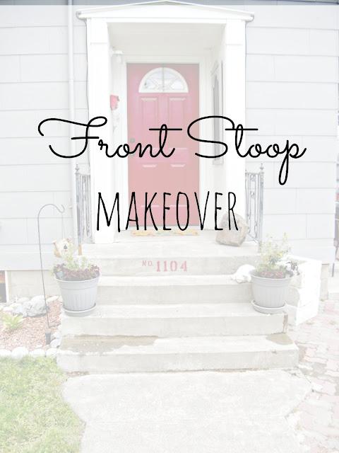 Front Stoop Makeover