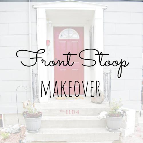 Front Stoop Makeover - Weekend Yard Work Series