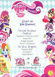 My Little Pony Applejack Series 1 Trading Card