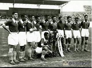 Tim Hindia Belanda Di Piala Dunia 1938