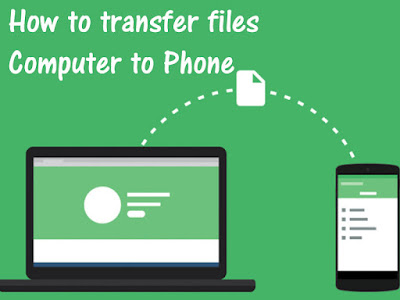 How to transfer files Computer to Phone in hindi