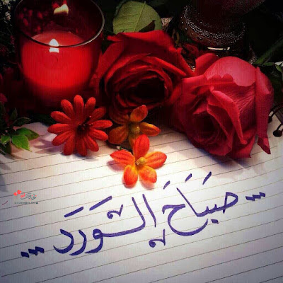 صور صباح الورد جديده مسجات صباح الورد للاصدقاء
