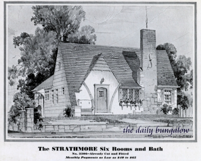 Sears Strathmore 1932 catalog Daily Bungalow
