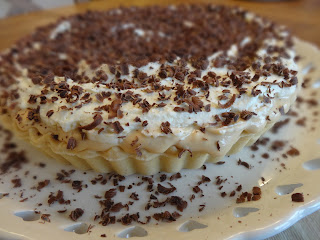 Banoffee Pie with Cream Cheese