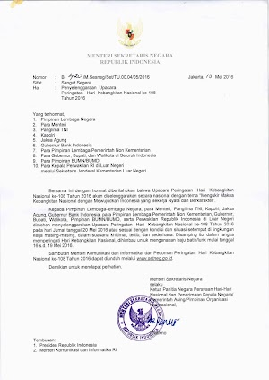Peringatan Hari Kebangkitan Nasional, ASN Dihimbau Memakai Batik
