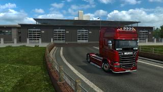 ets2 mods, recommendedmodsets2, Frkn64's Modern Garage Mod, euro truck simulator 2 mods, ets2 realistic mods, ets 2 modern garage mod v1.3 screenshots5