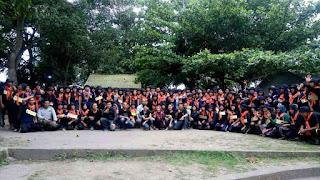 ounbond kegiatan pra kuliah PSPP Yogyakarta selesai acara