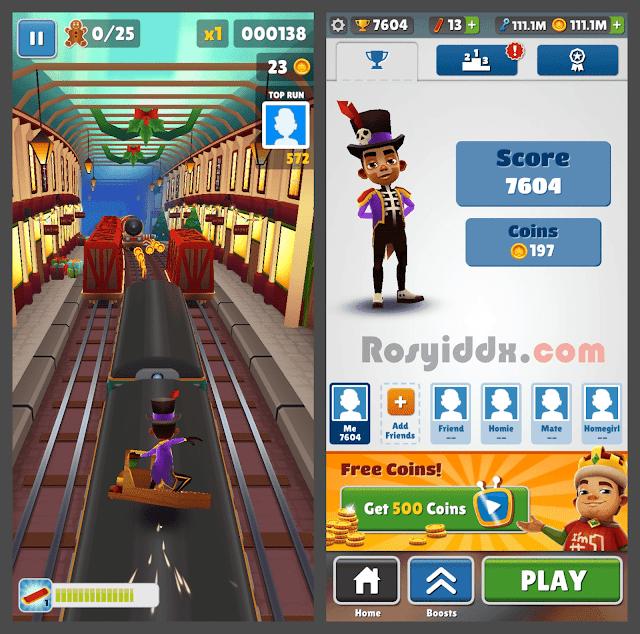 Download Subway Surfers Mod APK Versi Terbaru