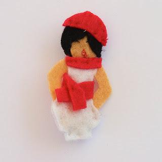 Sanfermina pequeña vestido bombacho VENDIDA