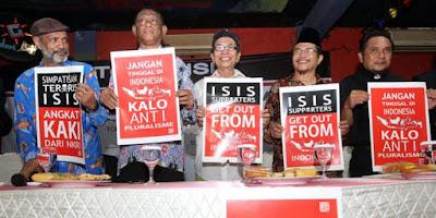 ISIS dan FPI latihan bersama bela negara