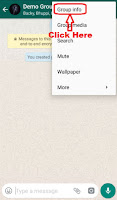how to delete whatsapp group by admin