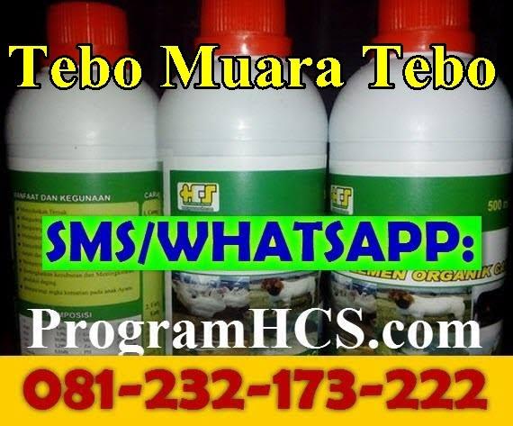 Jual SOC HCS Tebo Muara Tebo