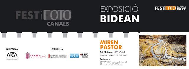 "Exposició DE MIREN PASTOR titulada ""Bidean"""