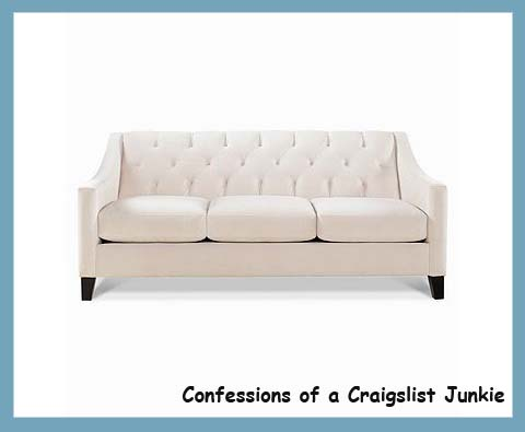 Confessions Of A Craigslist Junkie Sofa Shopping And The