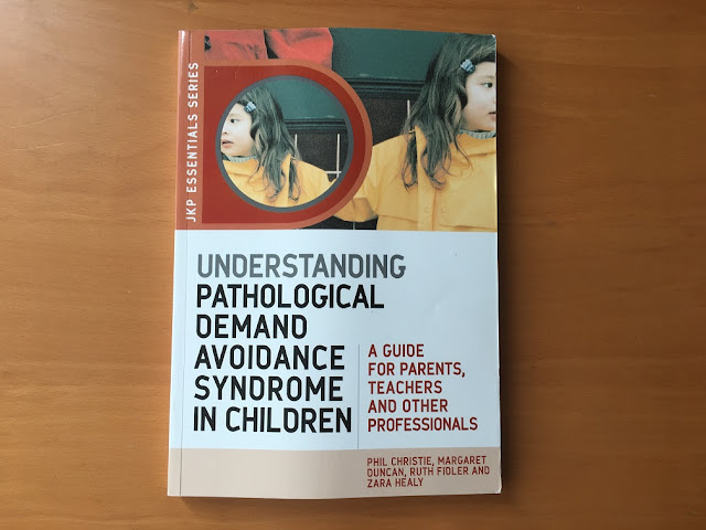 understanding pathological demand avoidance book cover