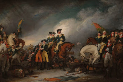 The Capture of the Hessians at Trenton December 26, 1776, by John Trumbull