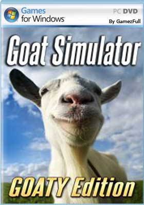Descargar Goat Simulator GOATY Edition pc full español mega y google drive.