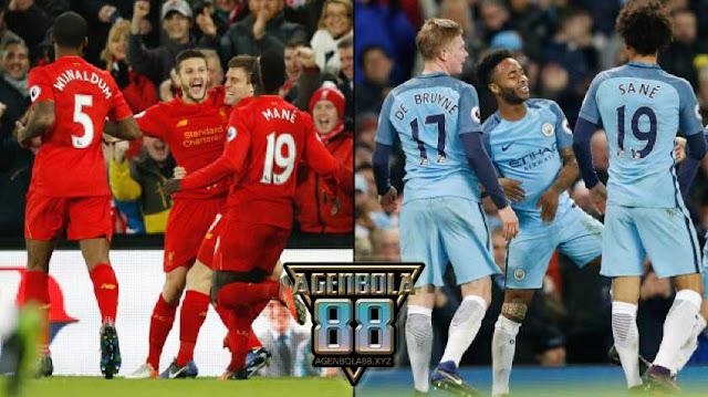 Tim Liverpool dan Tim Manchester City