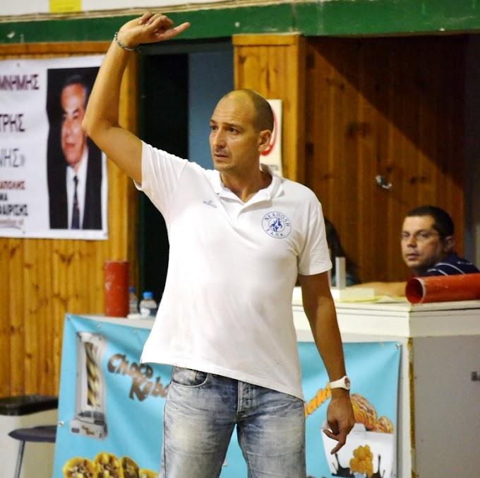 Μπούμπας: «Οσο πιο ψηλά τόσο καλύτερα για το ΠΚ Νεάπολης»