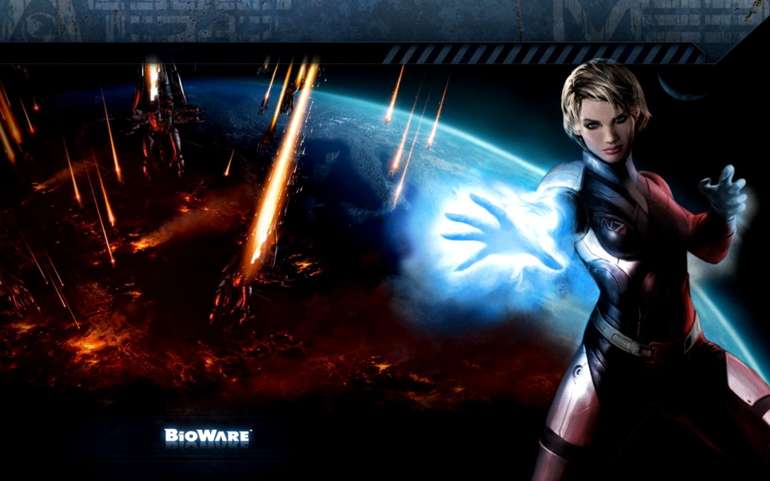 Mass Effect 3 Girl Wallpapers Hd Wallpapers Plus