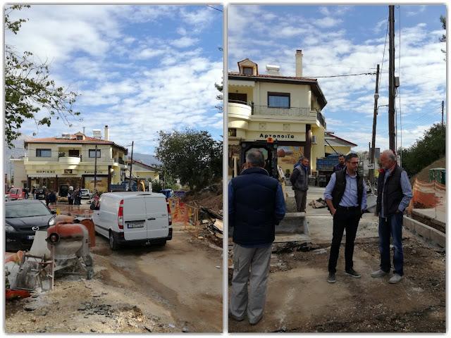 Γιάννενα: Με γοργούς ρυθμούς προχωρά η παρέμβαση στον κόμβο Εφύρας