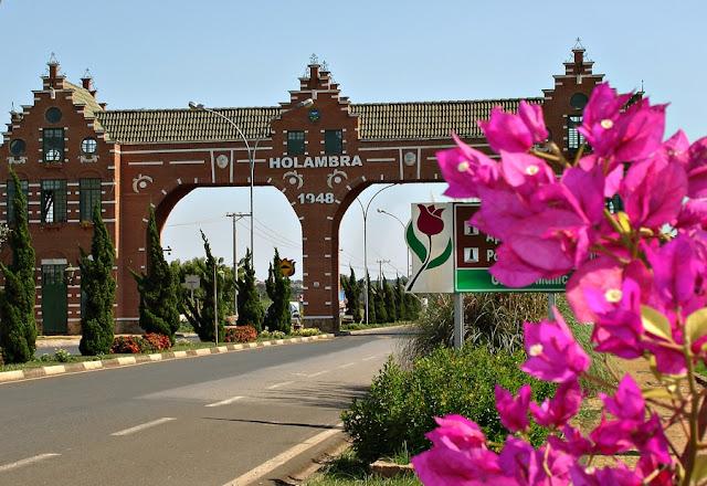 Conheça Holambra a cidade das flores