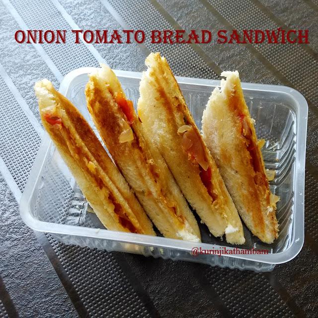 Onion Tomato Bread Sandwich | Bread Recipes
