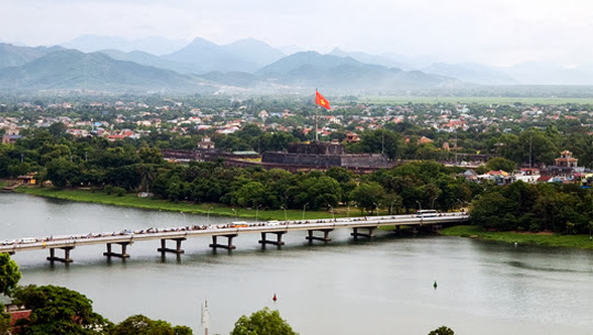 And quiet flows the Huong River 10