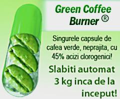 Imaginea reclamei green cofee burner