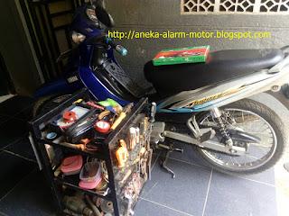 Cara pasang alarm motor pada Yamaha Jupiter Z