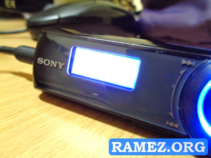 Sony MP3 Player NWZ-B172F 2GB ZAPPIN