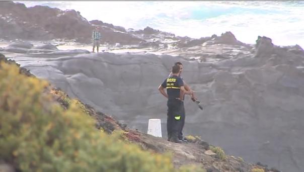 Un joven se cae al mar en Punta del Camello, Costa de Arucas y está desaparecido