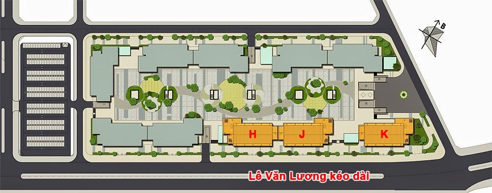 Mặt bằng dự án chung cư Park View Residence Dương Nội