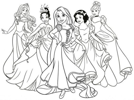 Tranh tô màu công chúa11